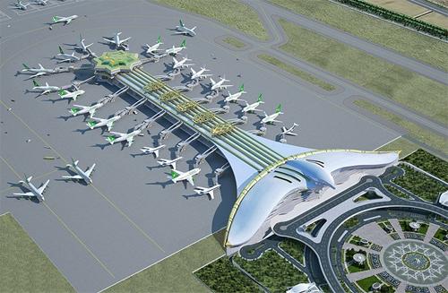 ВАшхабаде открыли новый аэропорт стоимостью неменее $2 млрд