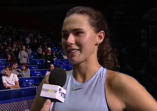 Цуренко обыграла американскую теннисистку встарте турнира в столице России